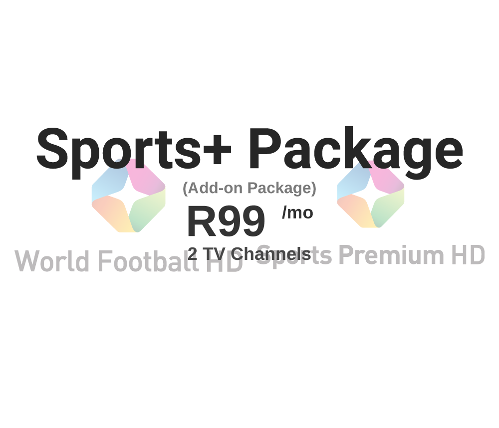 Sports+ Package for R99/mo