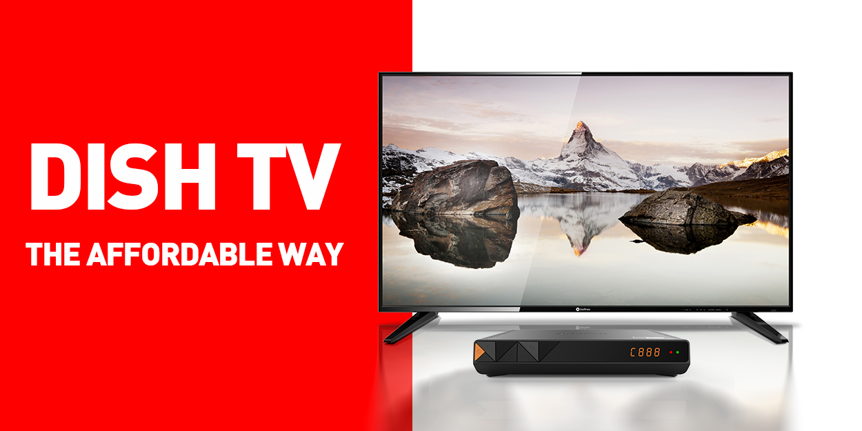 Dish TV The Affordable Way