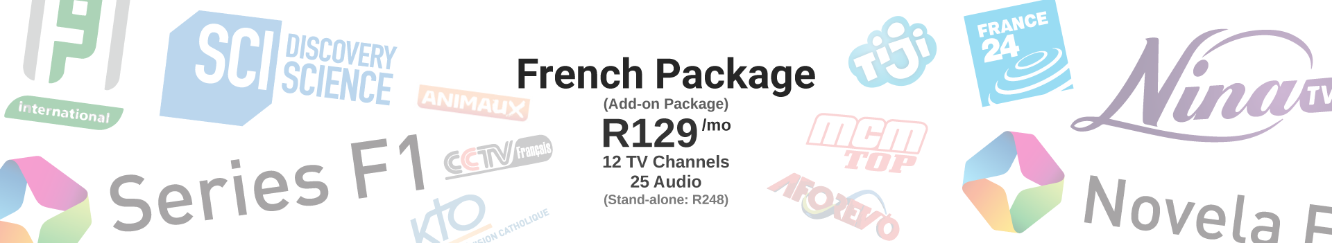 French Package: R129/mo