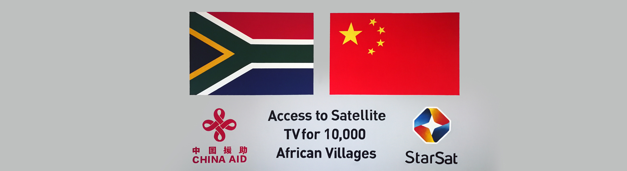 Access to Satellite TV for 10,000 African Villages