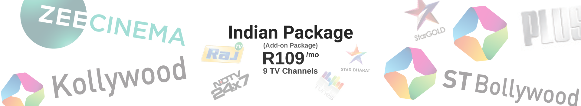 Indian Package: R109