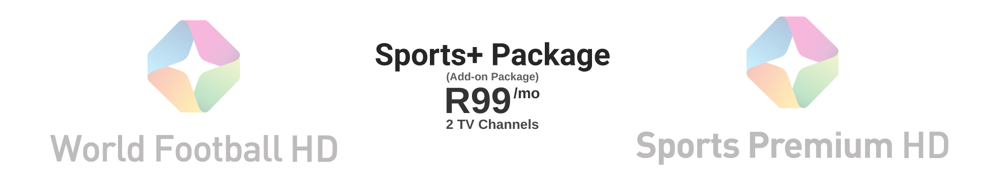 Sports+ Package: R99/mo
