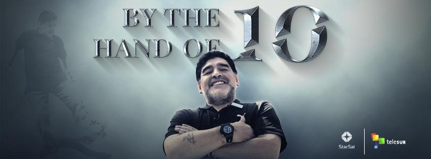 Maradona By the Hand of 10