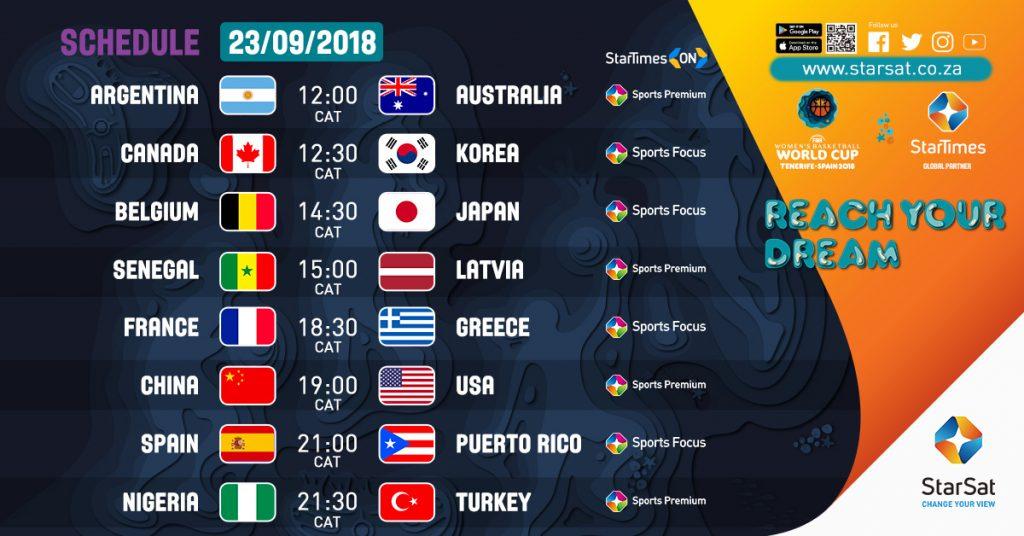 FWBWC 2018 Schedule