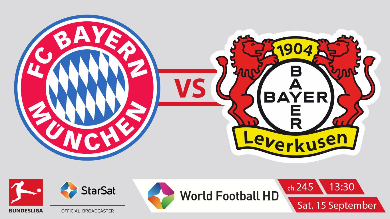 Bundesliga: FC Bayern München vs Bayer 04 Leverkusen