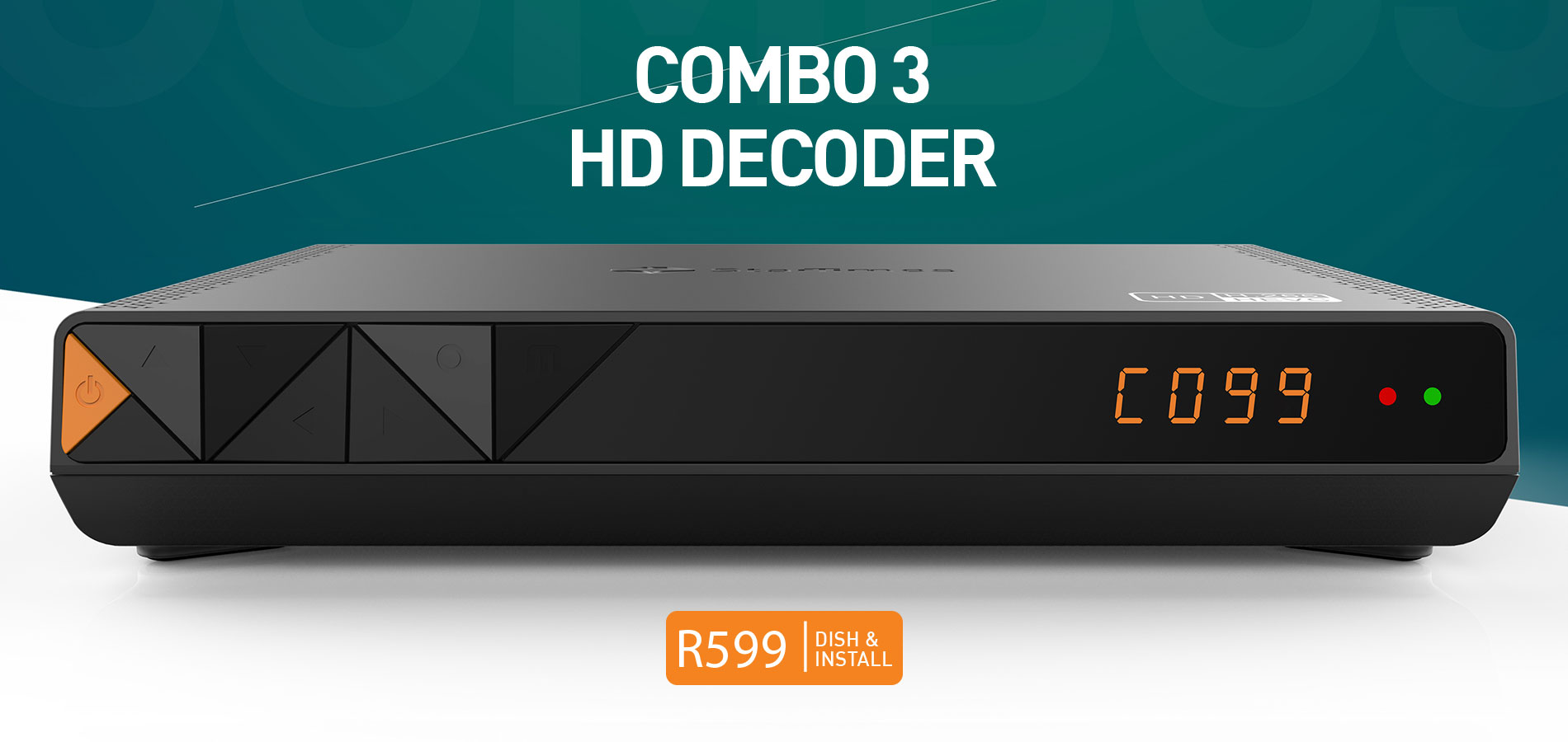 Combo 3 Decoder for R599 plus installation