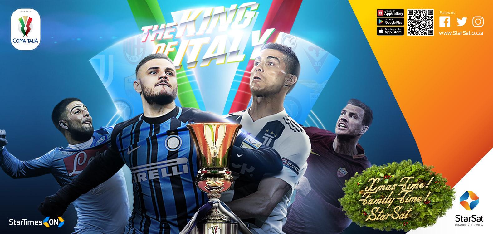 Coppa Italia on StarSat