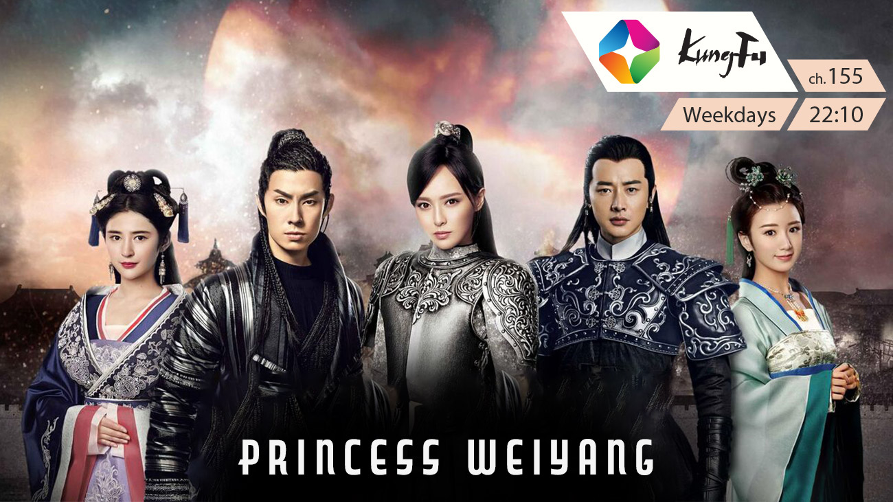 Princess Weiyang on ST Kung Fu on StarSat