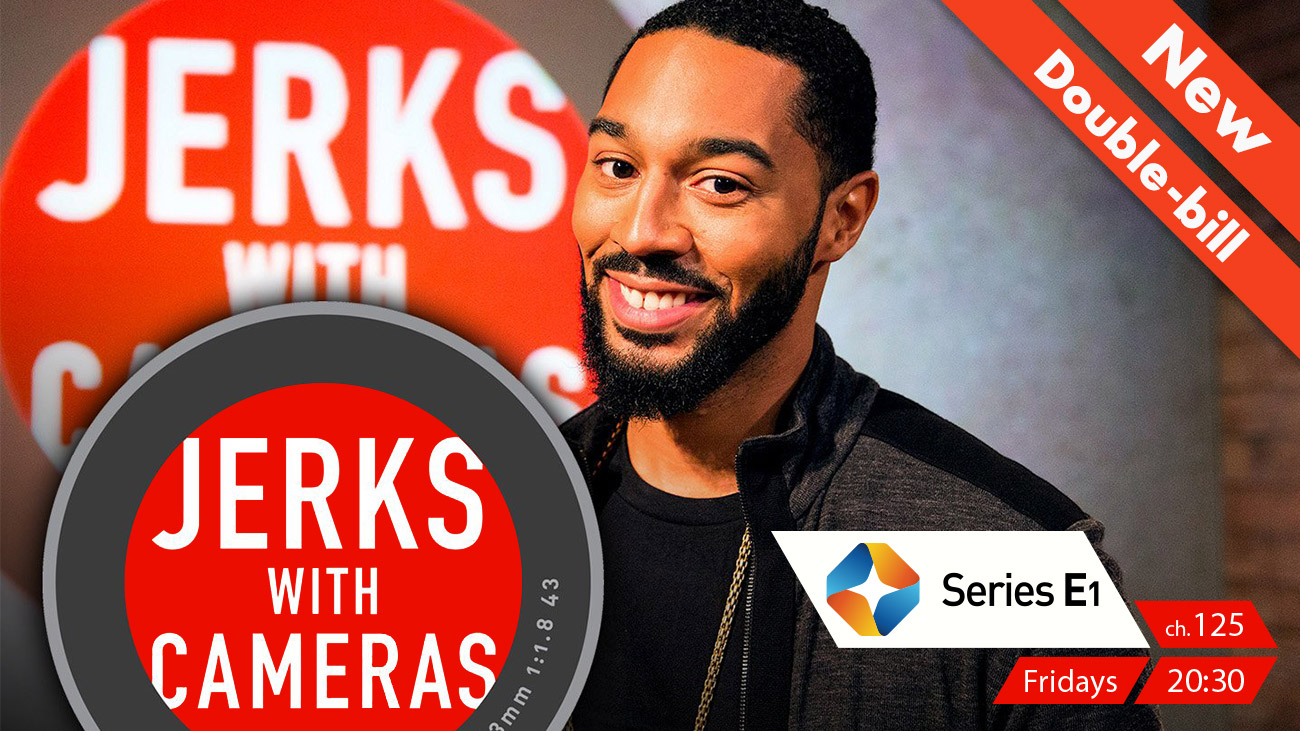 Jerks with Cameras on ST Series E1 on StarSat