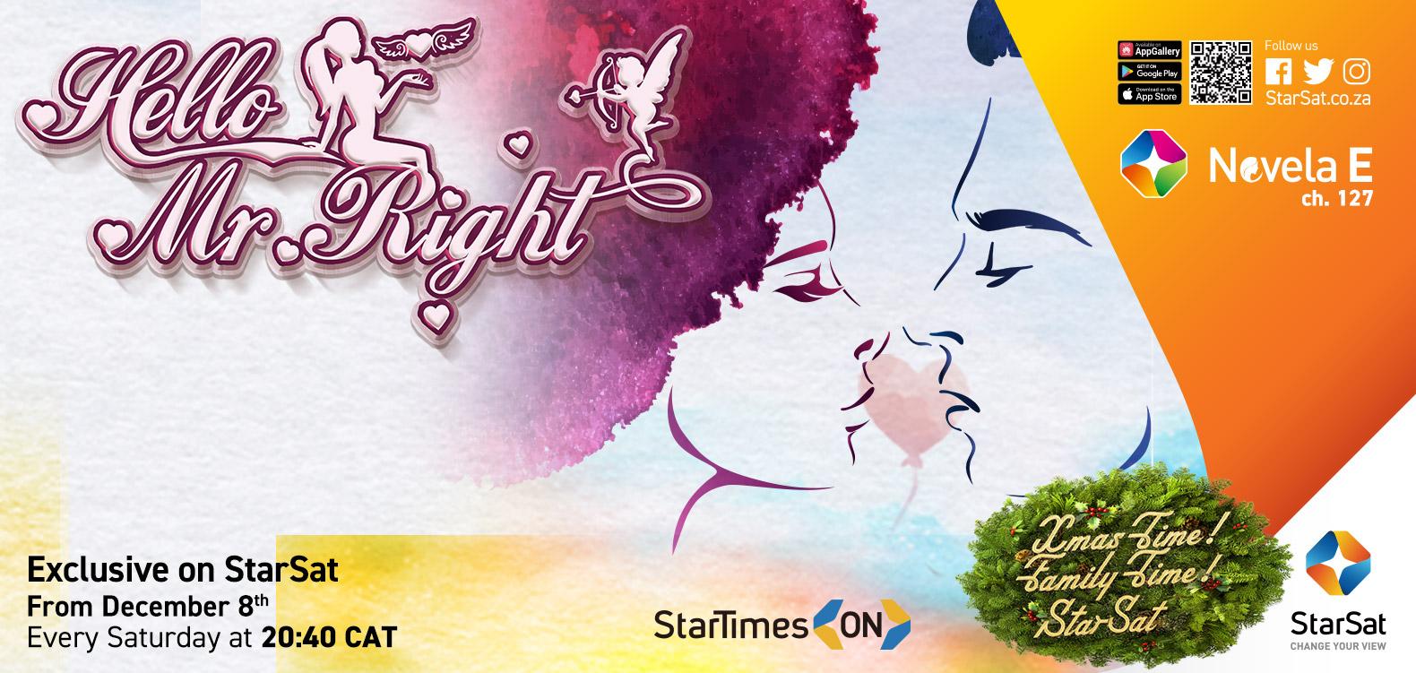 Mr Right on ST Novela E on StarSat
