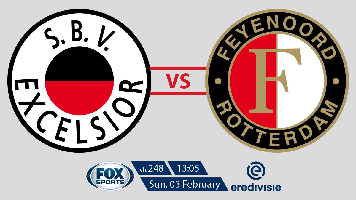 Eredivisie Excelsior vs Feyenoord on FOX Sports on StarSat