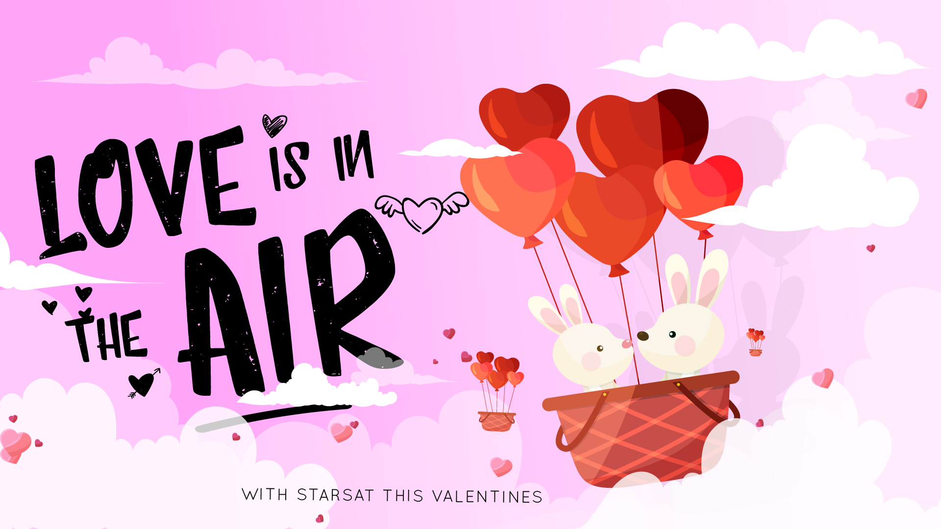 Love is in the Air with StarSat