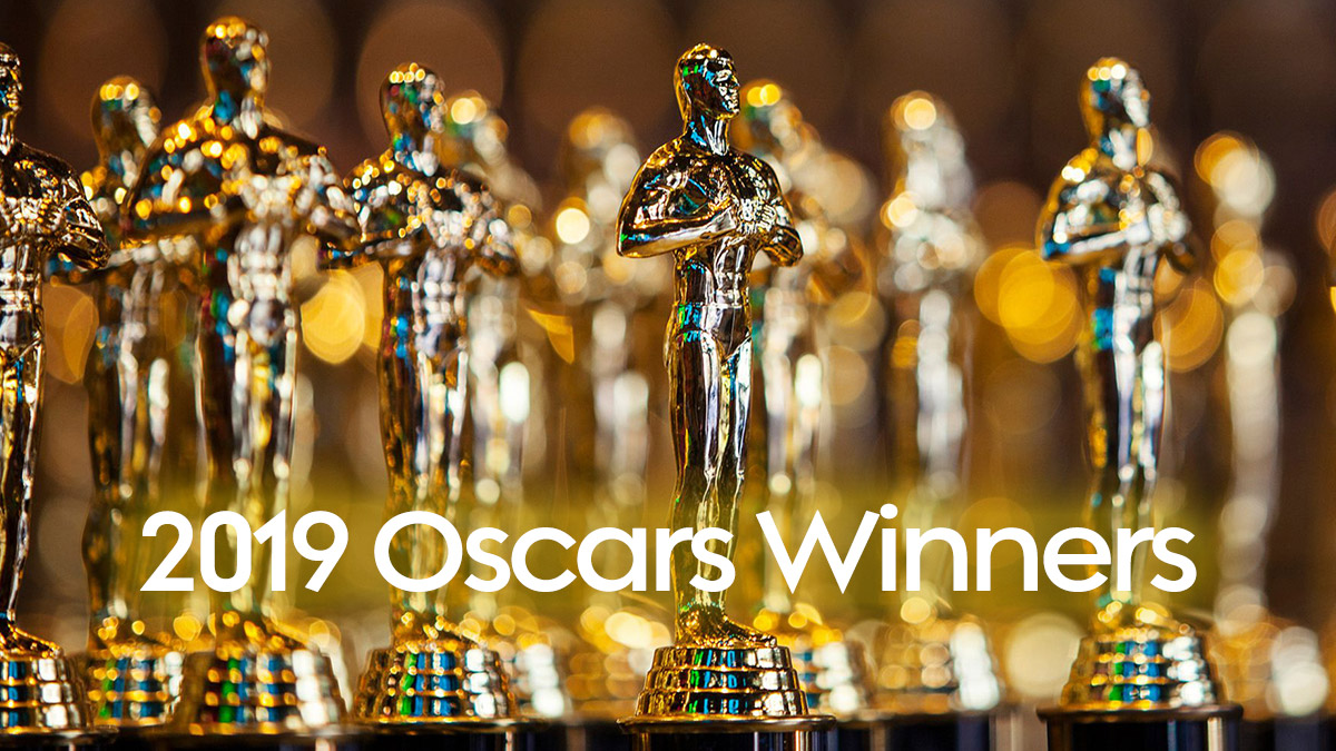 2019 Oscars Winners