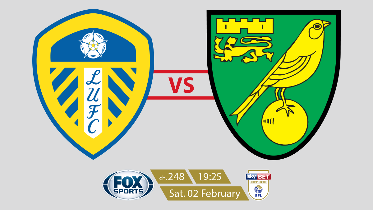 EFL Championship Leeds vs Norwich on FOX Sports on StarSat