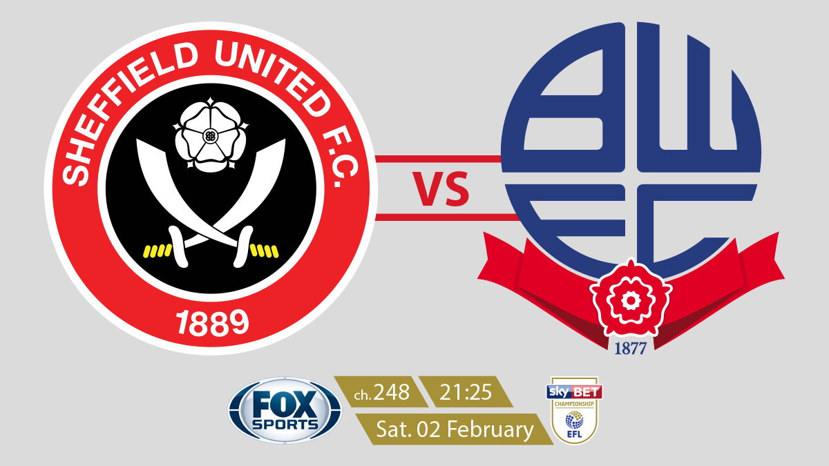 EFL Championship Sheff Utd vs Bolton on FOX Sports on StarSat