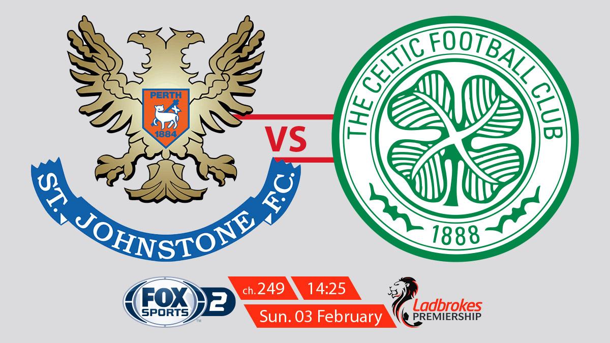 Scottish Premiership St Johnstone vs Celtic on FOX Sports on StarSat