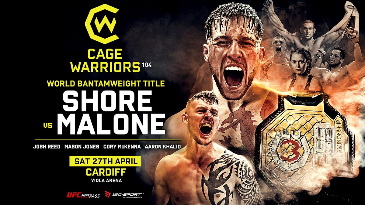 Cage Warriors 104 on ST Sports Arena on StarSat