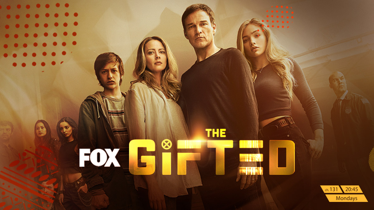 The Gifted on FOX on StarSat