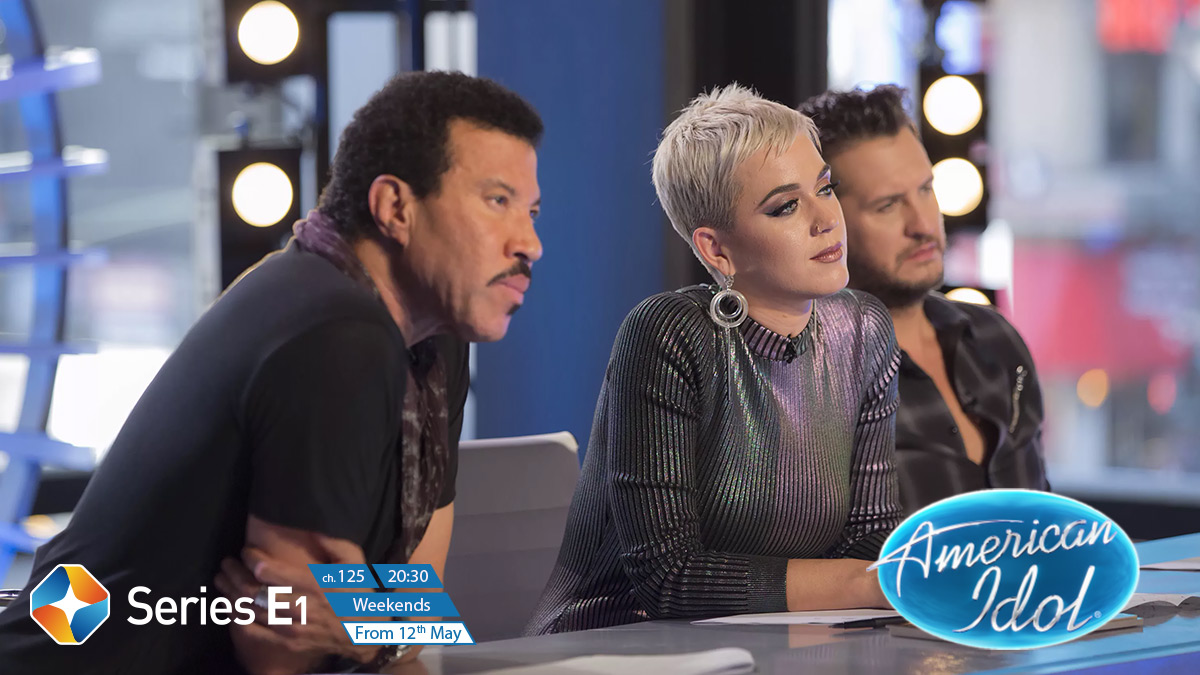 American Idol (S16) on ST Series E1 on StarSat