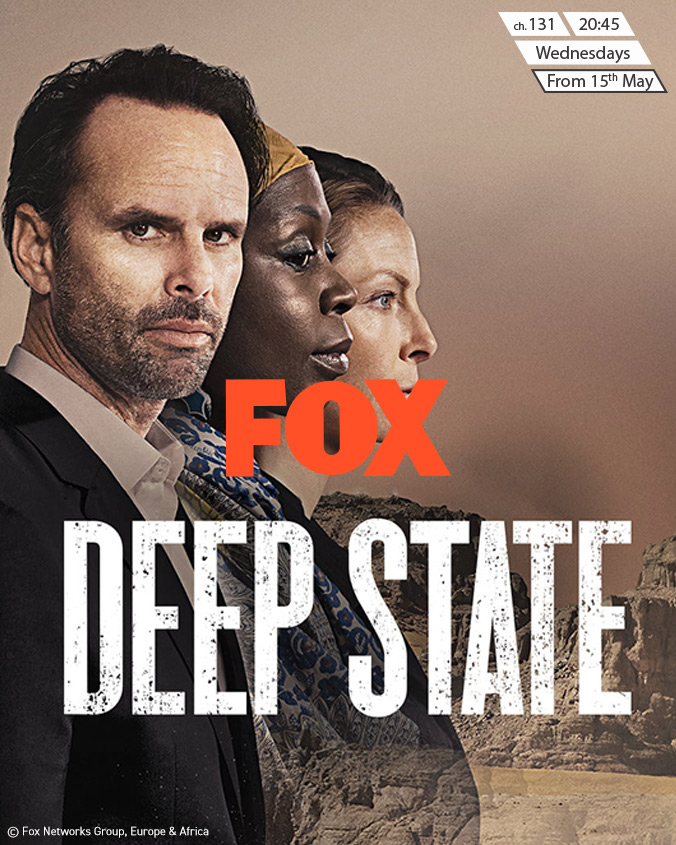 Deep State on FOX on StarSat (mobile)