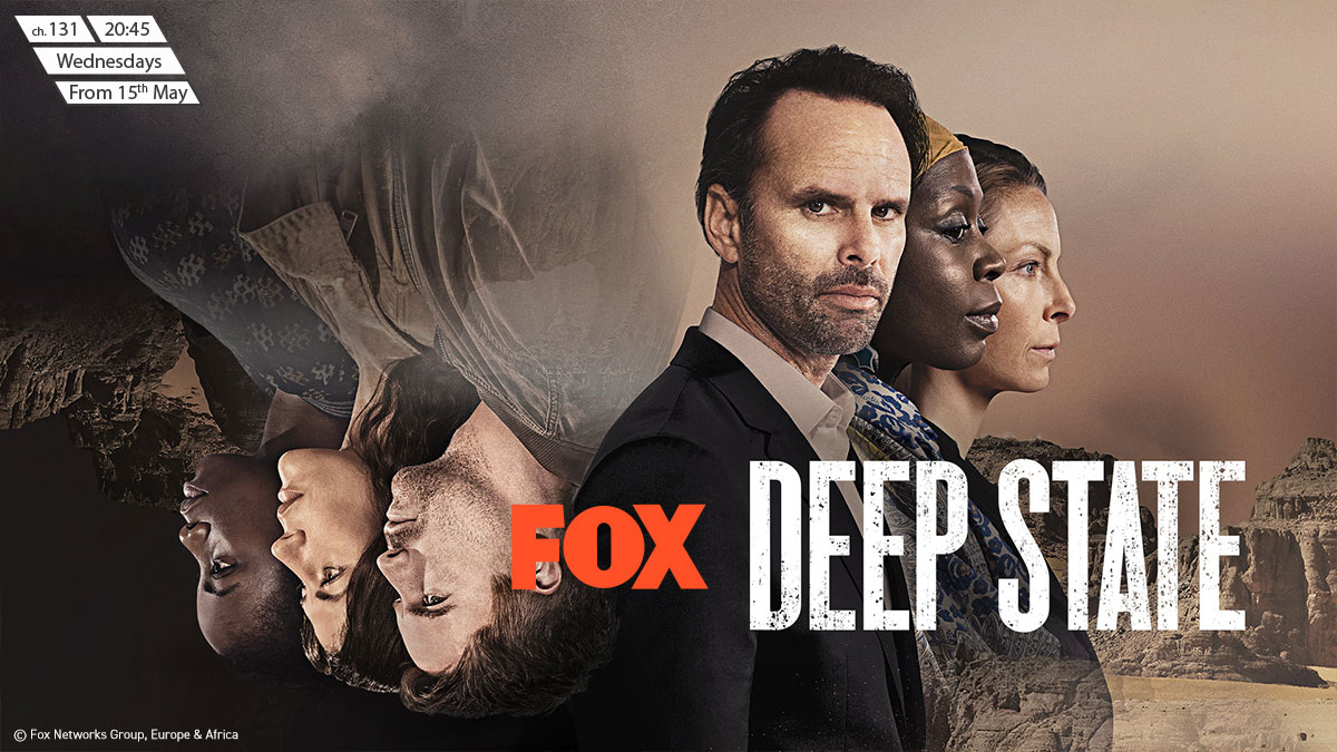 Deep State on FOX on StarSat