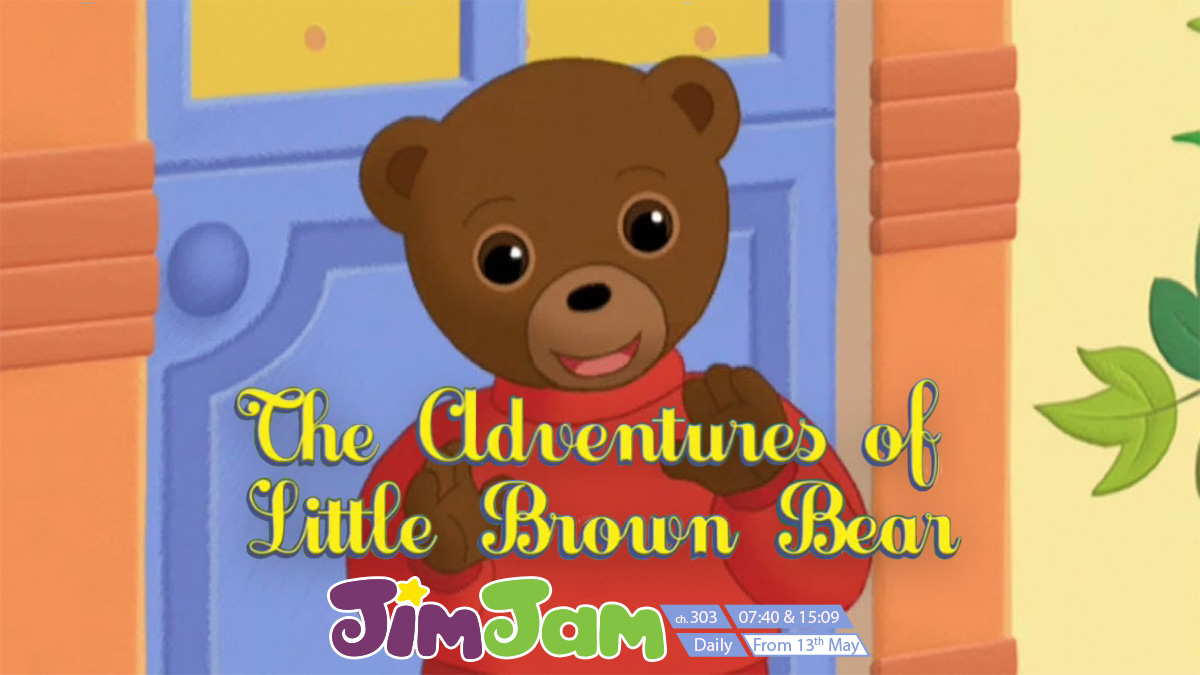 Little Brown Bear on JimJam on StarSat