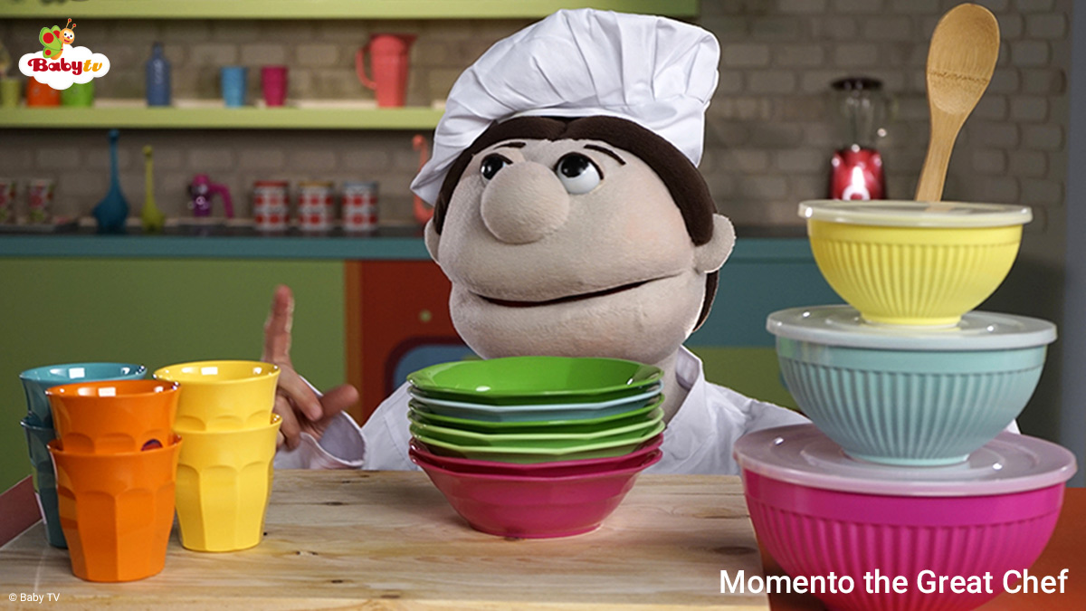Momento the Great Chef on BabyTV on StarSat