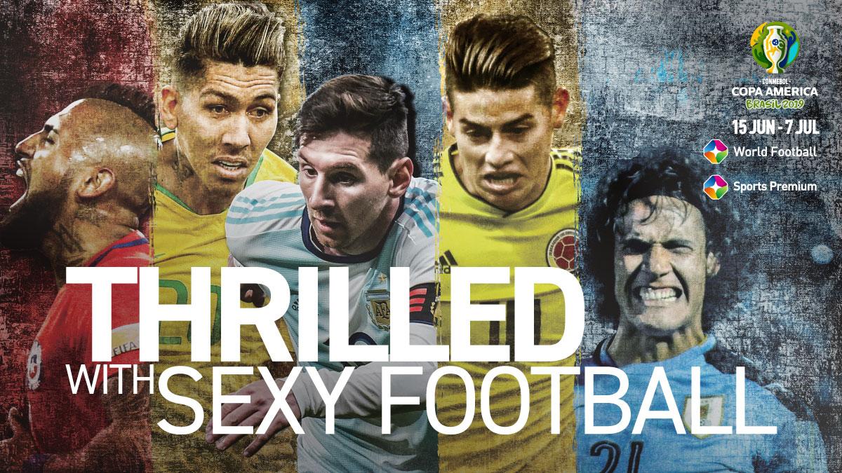 Copa America Brasil 2019 on StarSat