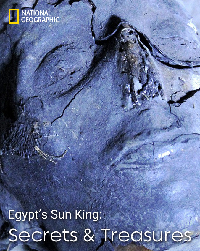 Promo on Egypt's Sun King - Secrets and Treasures on National Geographic channel on StarSat (mobile)
