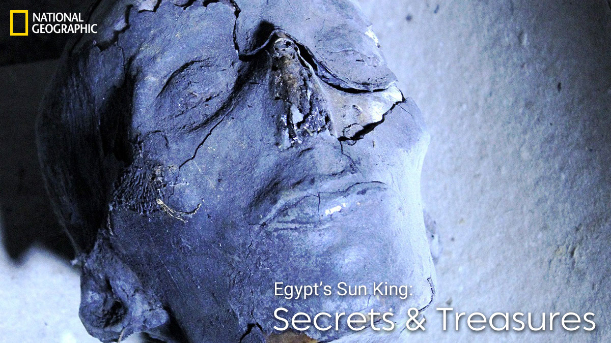 Promo Image for Egypt's Sun King - Secrets and Treasures on National Geographic channel on StarSat
