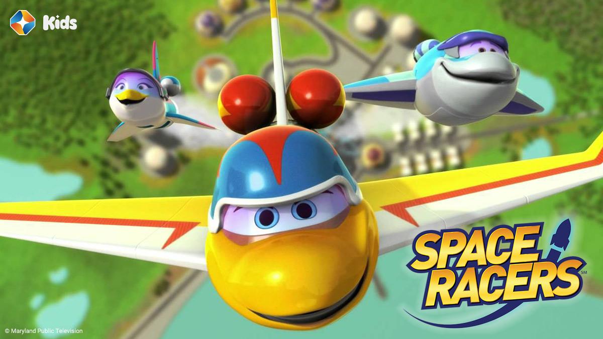 Space Racer on ST Kids on StarSat (website)