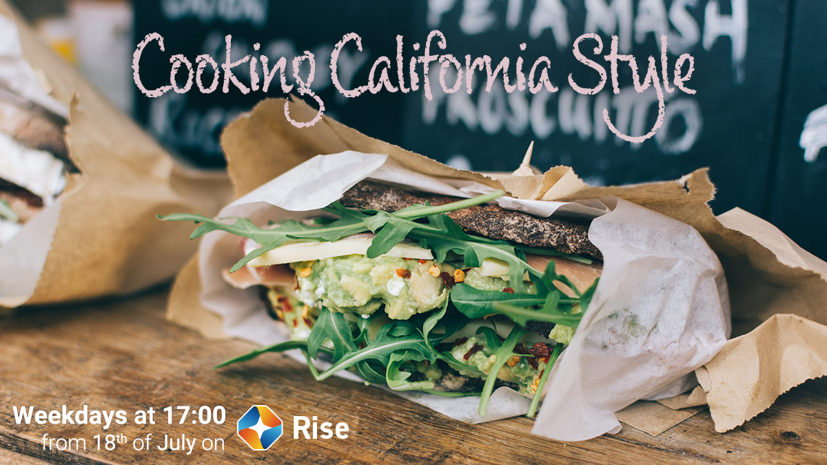 Cooking California Style on ST Rise on StarSat web banner