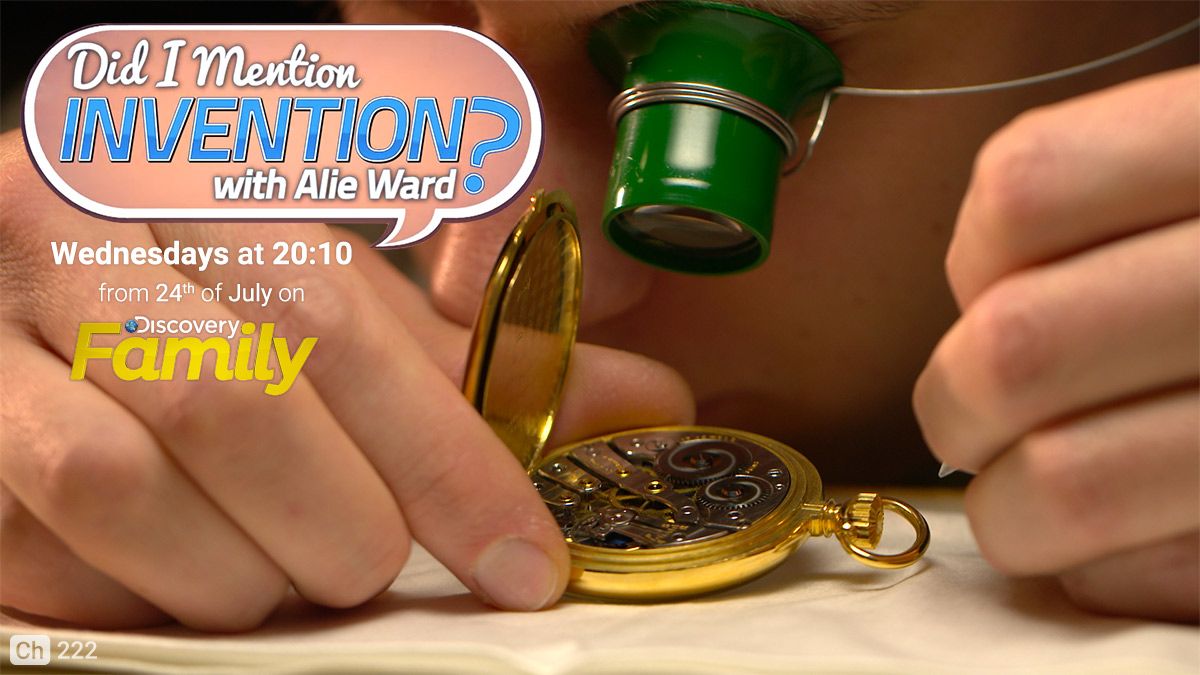 Did I Mention Invention on Discovery Family on StarSat Web Banner