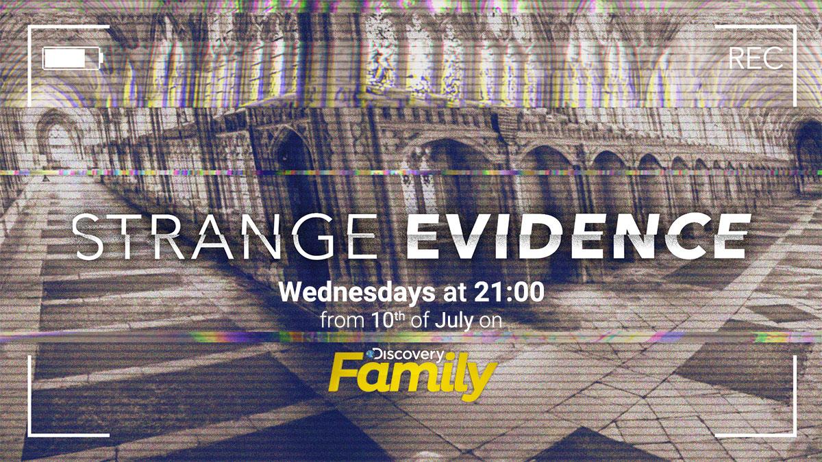 Strange Evidence on Discovery Family on StarSat promo