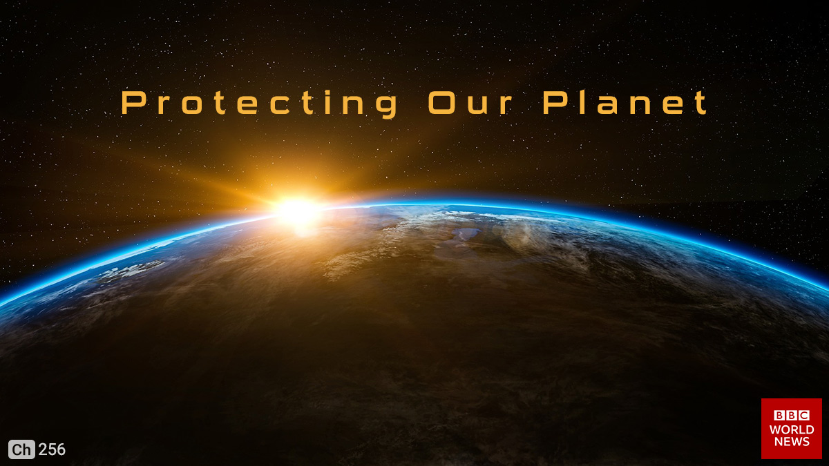 Protecting Our Planet on BBC World on StarSat