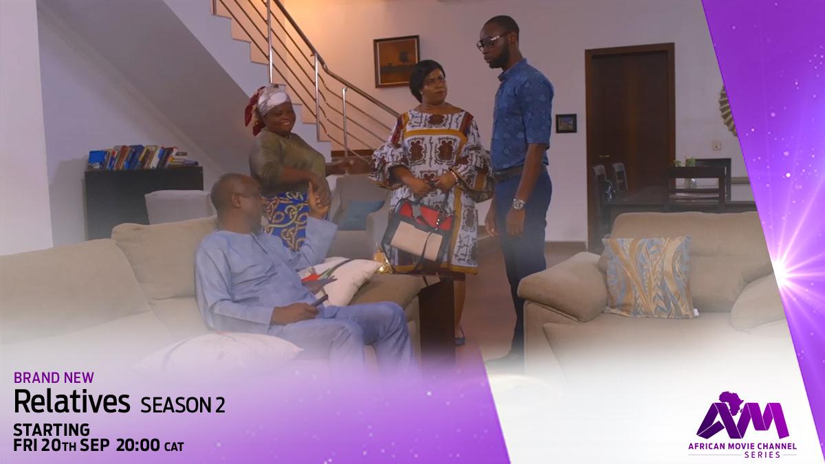 Relatives on AMC Series on StarSat