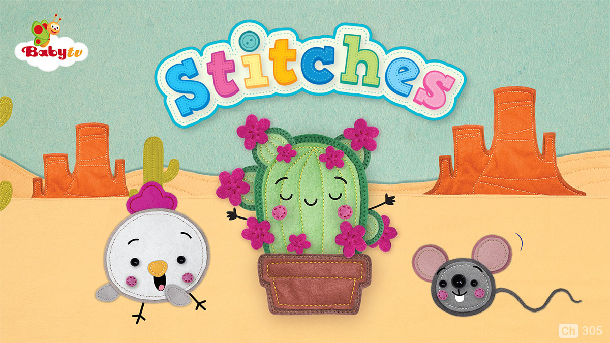 Stitches on BabyTV on StarSat
