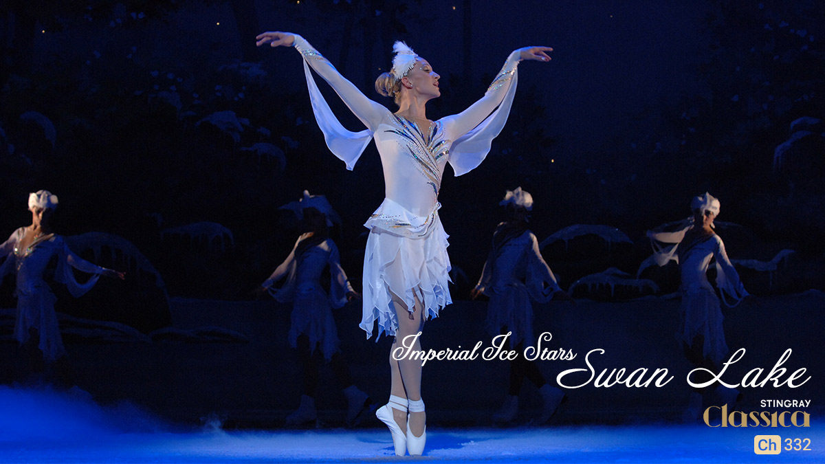 Ballet on Ice Swan Lake on StarSat on Stingray Classica