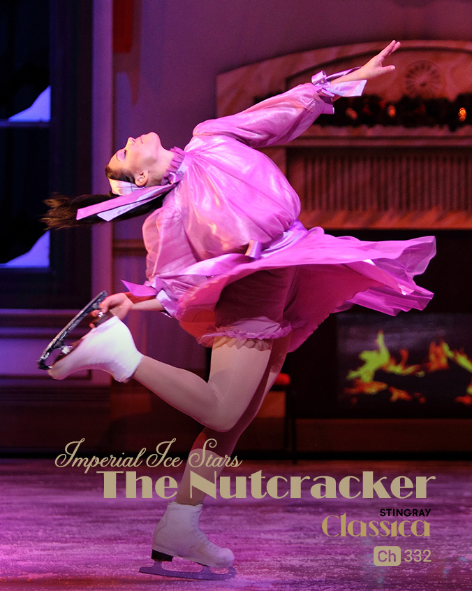 Ballet on Ice The Nutcracker on Stingray Classica on StarSat (mobile)