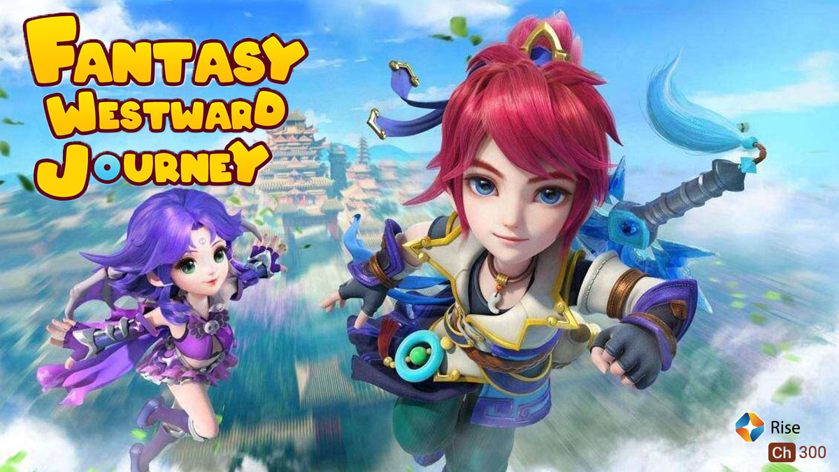 Fantasy Westward Journey on ST Kids on StarSat