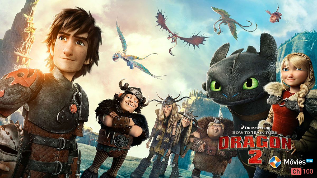 How To Train Your Dragon 2 on ST Movies Plus on StarSat