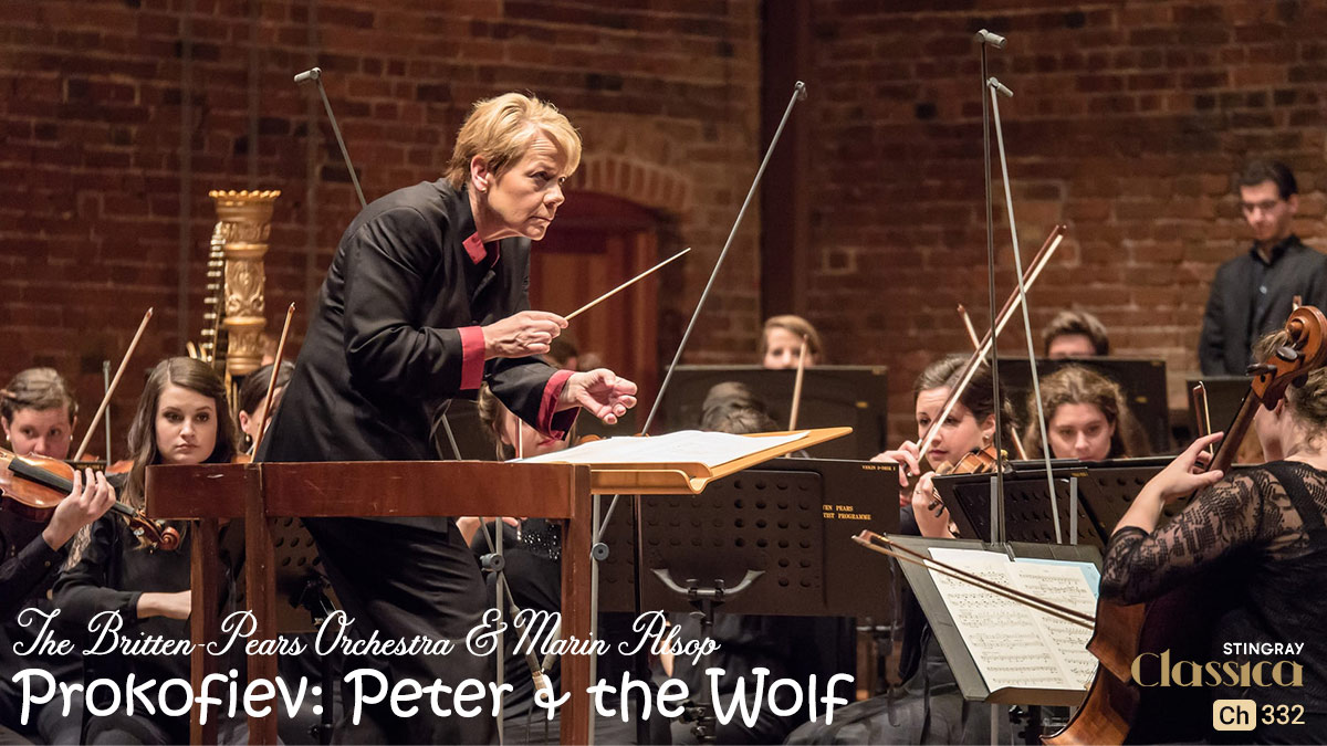 Prokofiev Peter and the Wolf on Stingray Classica on StarSat