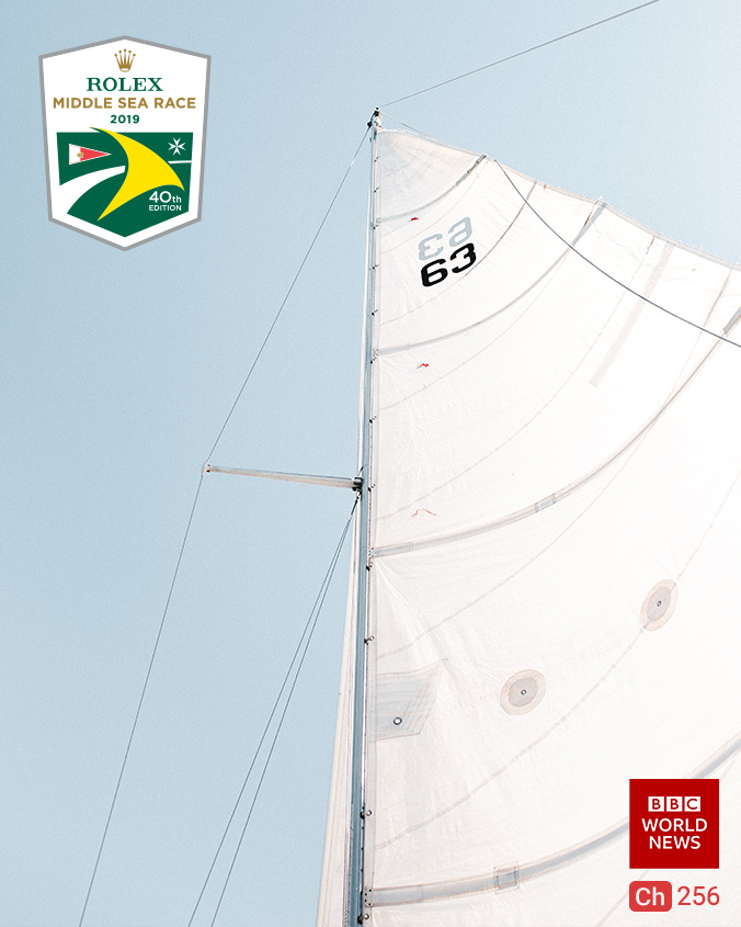 Spirit of Yachting The Rolex Middle Sea Race on BBC World News on StarSat (mobile)