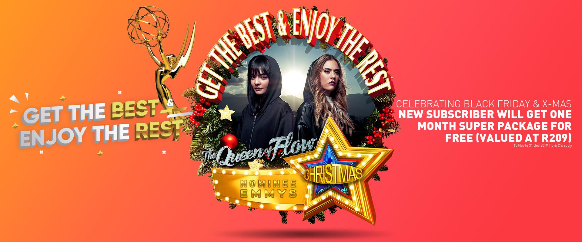 StarSat Christmas Special Queen of Flow