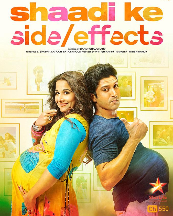 Shaadi Ke Side Effects on StarLife on StarSat (mobile)