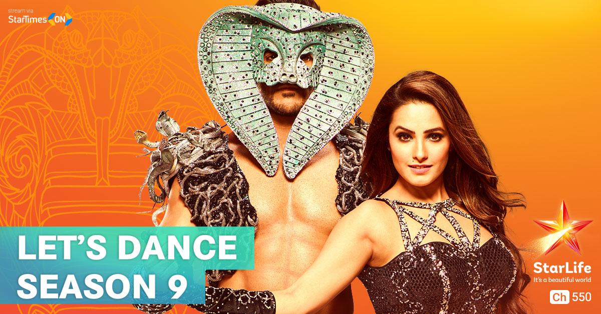 Let's Dance (Season 9) on StarLife on StarSat