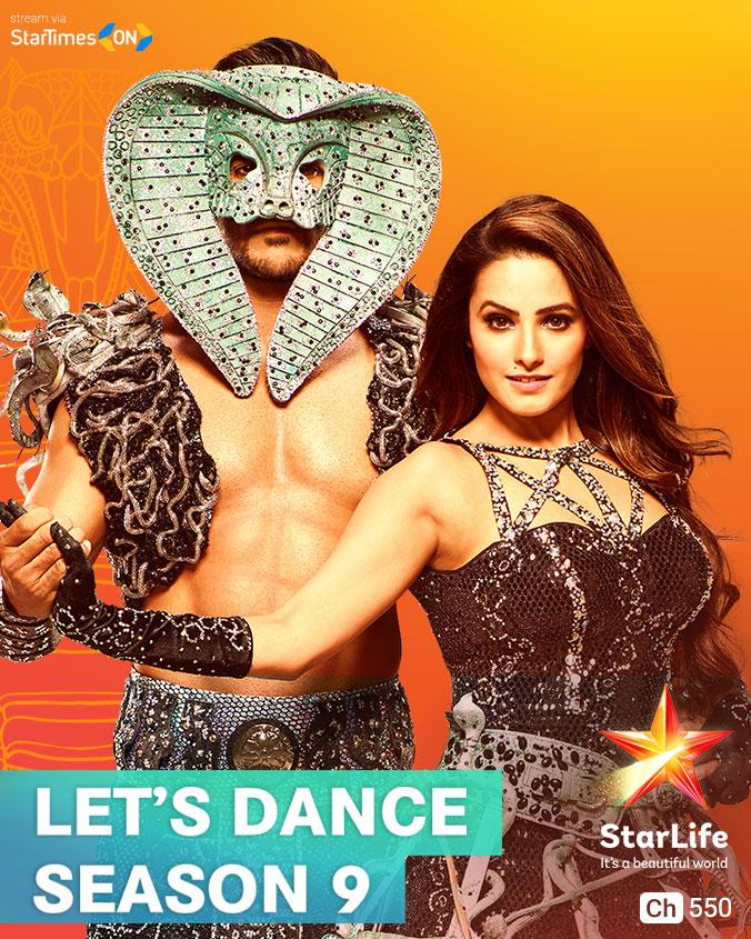 Let's Dance (Season 9) on StarLife on StarSat (mobile)