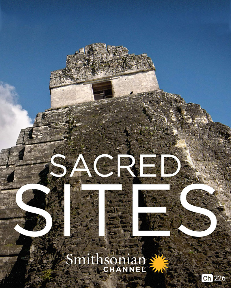 Sacred Sites on Smithsonian Channel on StarSat mobile