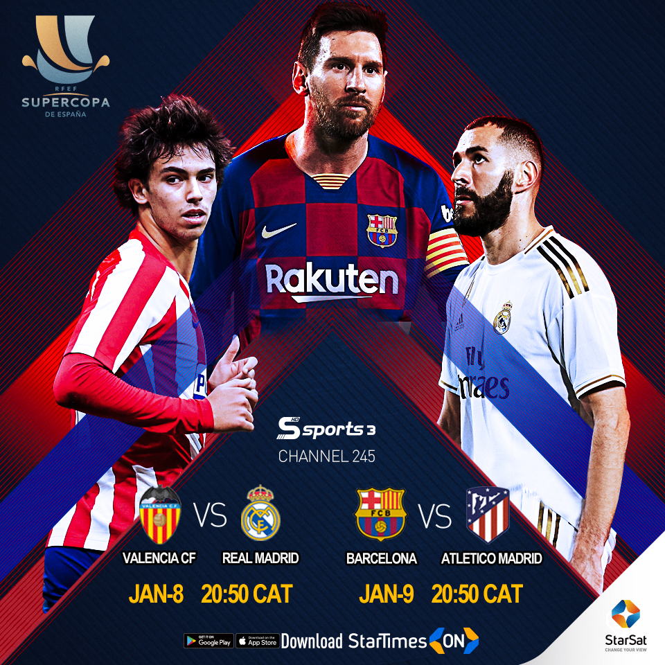 SuperCopa Semi-final on StarSat