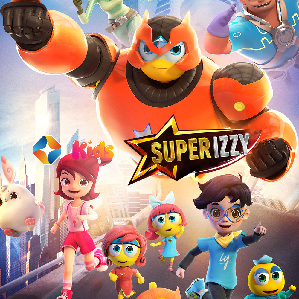 Super Izzy on ST Kids on StarSat